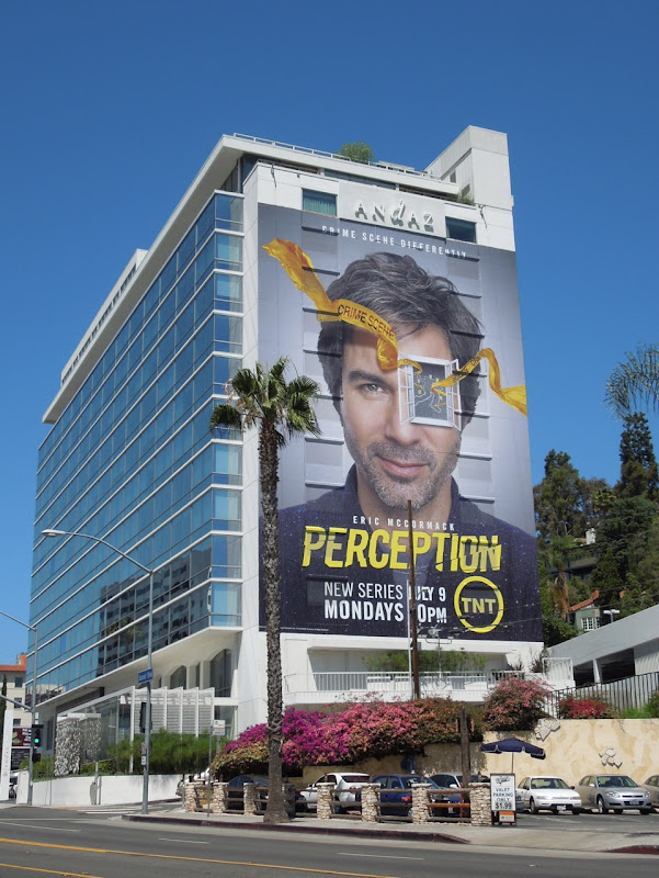 Eric McCormack Perception TV billboard