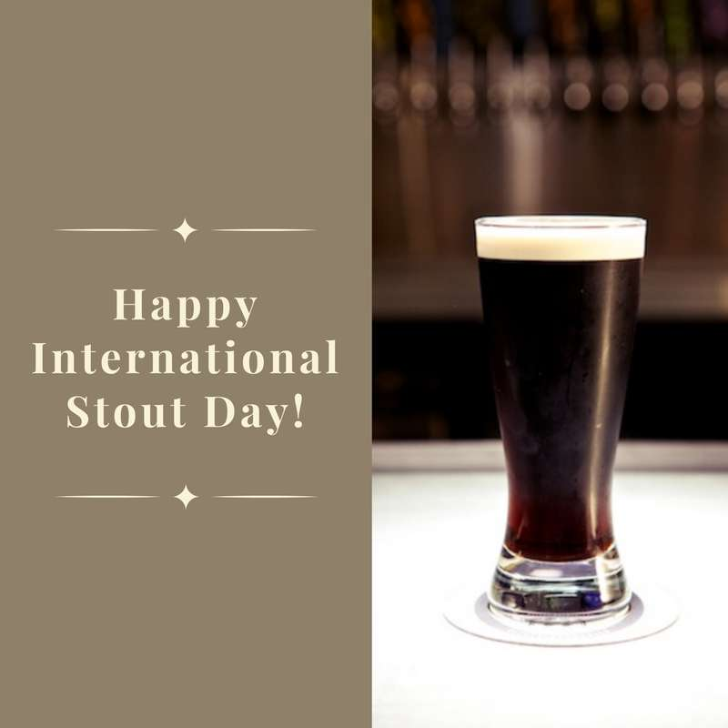 International Stout Day Wishes for Whatsapp