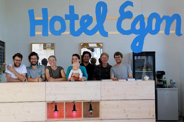 Hotel Egon Eiermannbau Apolda 2019