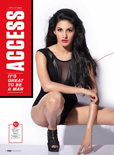 Amyra Dastur Sizzling pics from FHM India Magazine February 2016 Issue