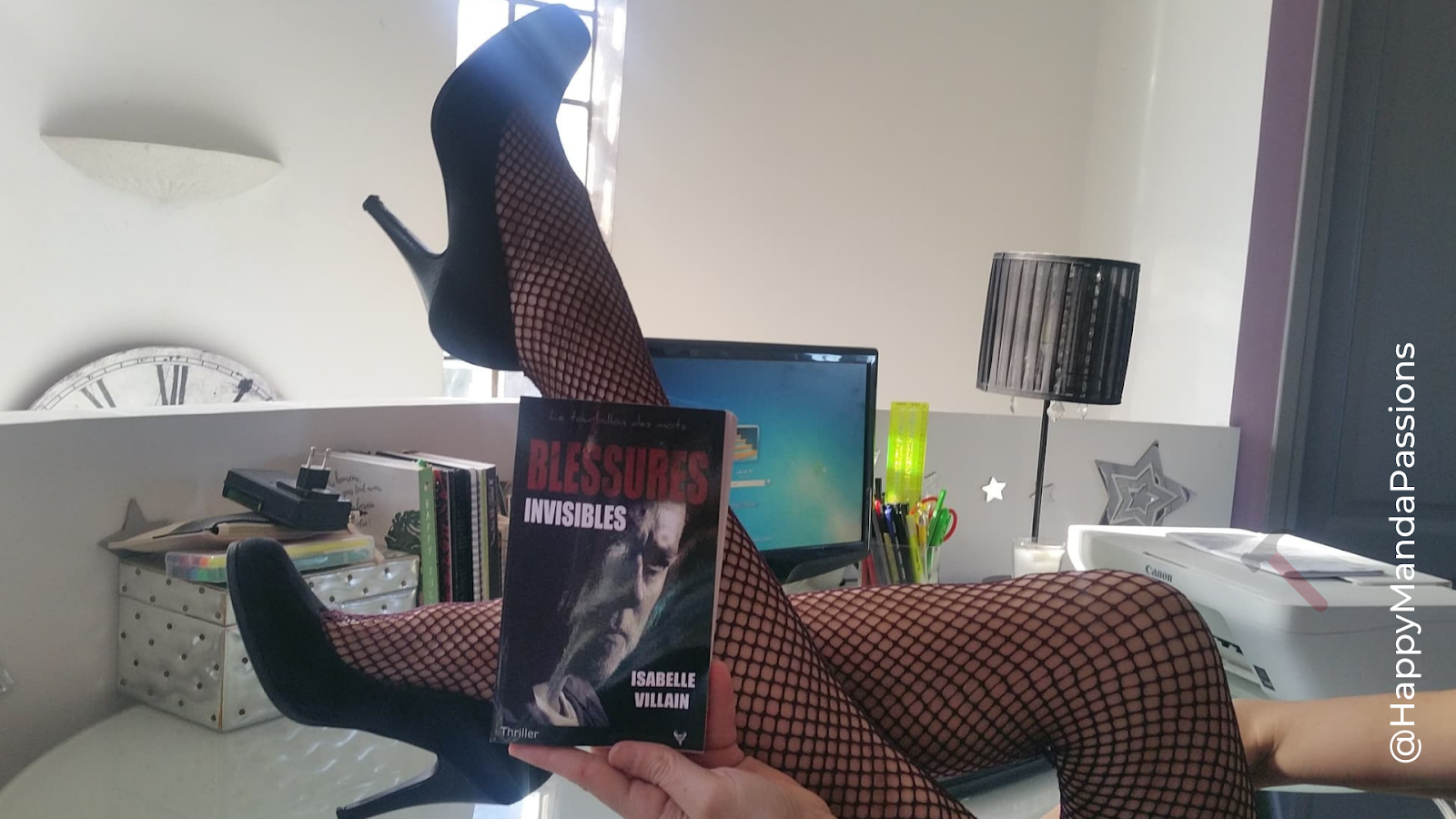 Blessures invisibles Isabelle Villain Editions Taurnada avis chronique happybook