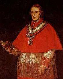 Cardinal Luis Maria de Borbon y Vallabriga