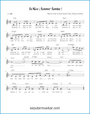 So Nice ( Summer Samba ) chords jazz standar