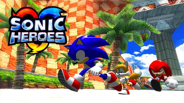 تحميل لعبة سونيك هيروز sonic heroes للكمبيوتر برابط مباشر مضغوطة من ميديا فاير بحجم صغير