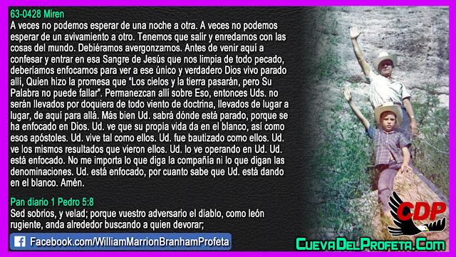 Su propia vida da en el blanco - William Branham en Español