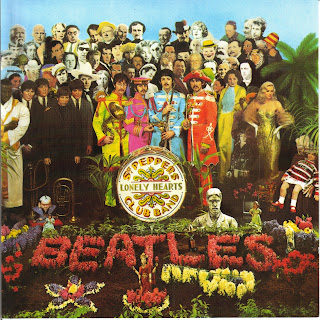 The Beatles - Sgt. Pepper's Lonely Hearts Club Band (1967) - capa do disco