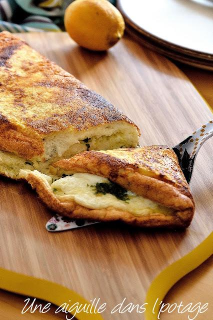 omelette-soufflée-mozzarella-fromage-gremolata