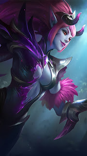 Selena Abyssal Witch Heroes Assassin Mage of Skins V3