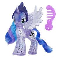 My Little Pony Glitter Celebration Princess Luna Brushable