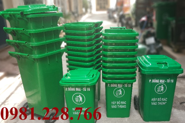 Đặc điểm thùng rác công nghiệp