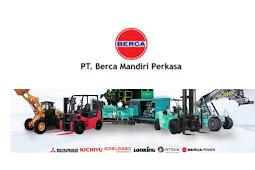 Informasi Lowongan Kerja PT Berca Indonesia Lulusan SMK, D3, S1 Posisi Mekanik Alat Berat dan Sales Engineer