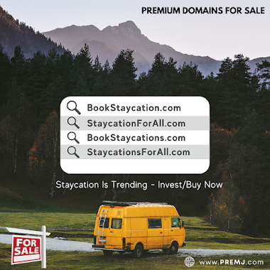 Staycation Domains For Sale (CLICK HERE TO VIEW FULL LIST)