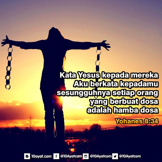 Yohanes 8:34