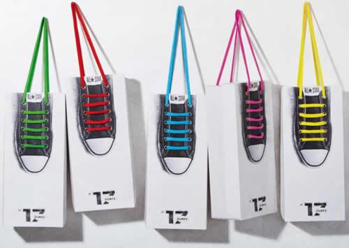 Desain Paper Bag/ Tas Belanja Sendal