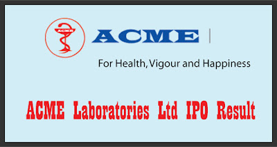 ACME Laboratories Ltd IPO Result