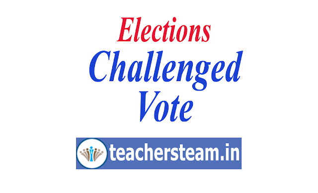 What is Challenged Vote,