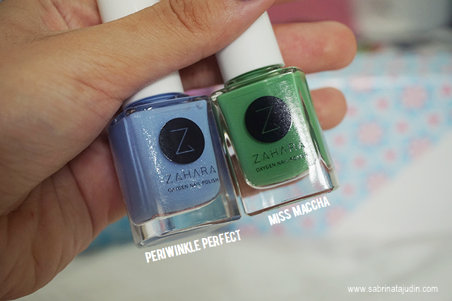 Wudhu-friendly Nail Polish from Zahara | Sabrina Tajudin
