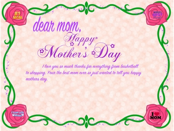 Happy Mothers Day Greetings Cards Ecards
