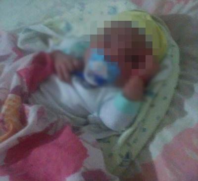 Bebê morre na localidade