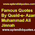 26 Famous Quotes By Muhammad Ali Jinnah