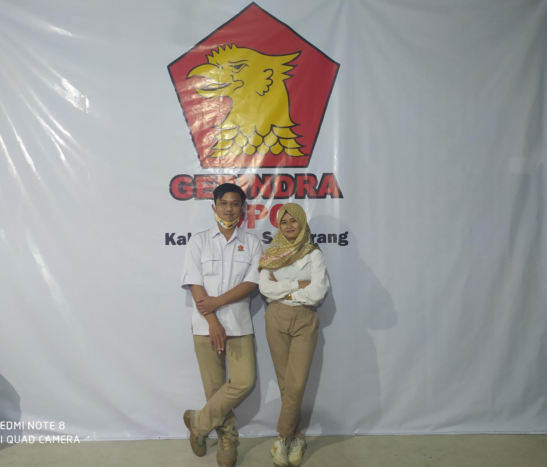 Pengurus Pimpinan Anak Cabang (PAC) Partai Gerakan Indonesia Raya (Gerindra) Kecamatan Ambarawa, Kabupaten Semarang, Jawa Tengah