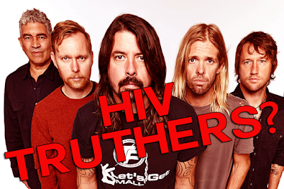 "We need to talk about this: The Foo Fighters are ""AIDS denialists"""