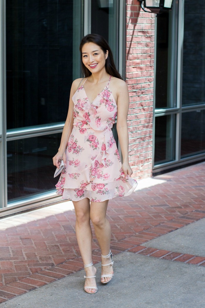 almost famous floral dress