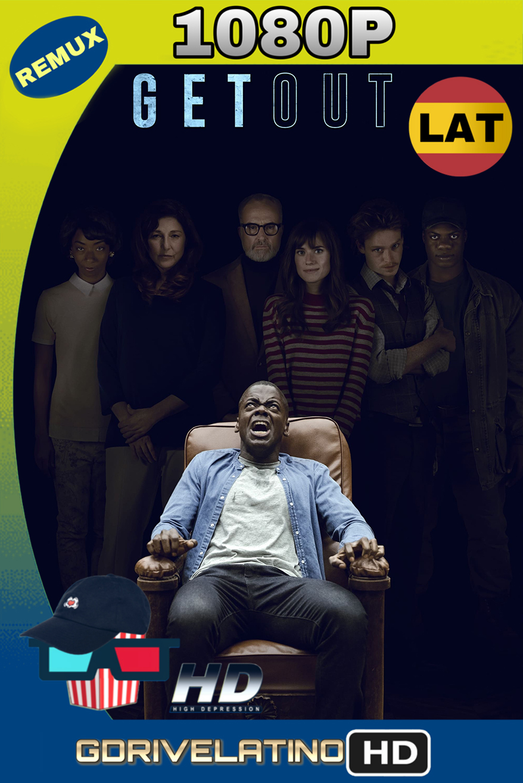¡Huye! (2017) REMUX 1080p (Latino-Inglés) MKV