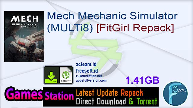 Mech Mechanic Simulator (MULTi8) [FitGirl Repack]