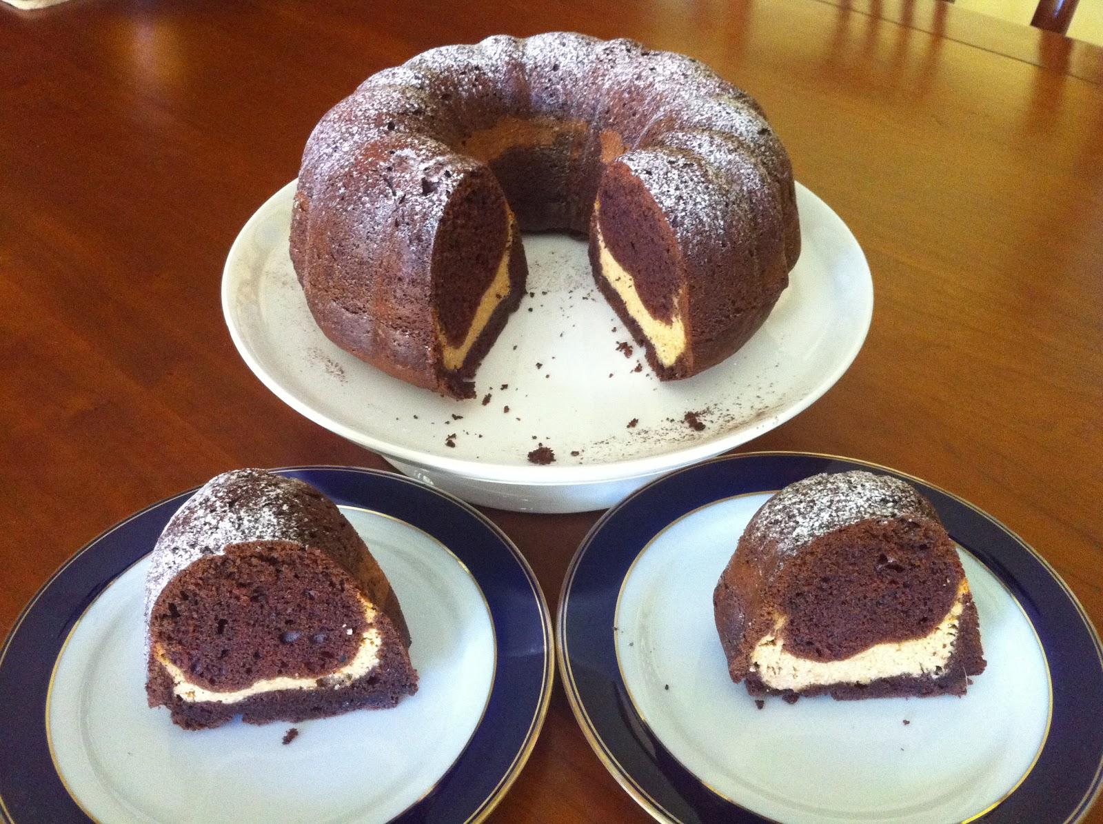 Black Bottom Cake Bundt