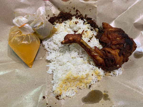 Nasi Kukus Ayam Dara review | Bangi area