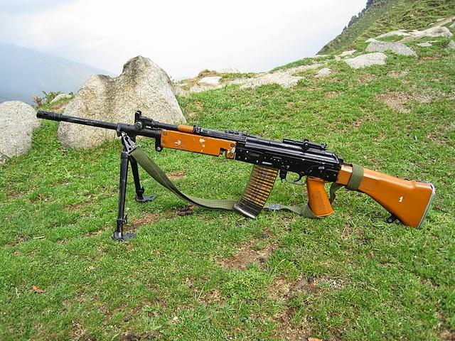 Firearms History, Technology & Development: Light Machine Guns