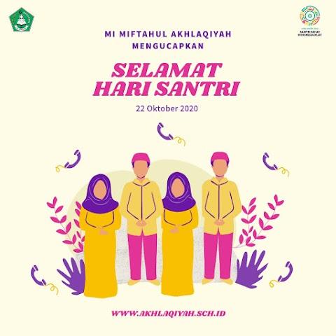 Selamat Hari Santri Nasional 22 Oktober 2020