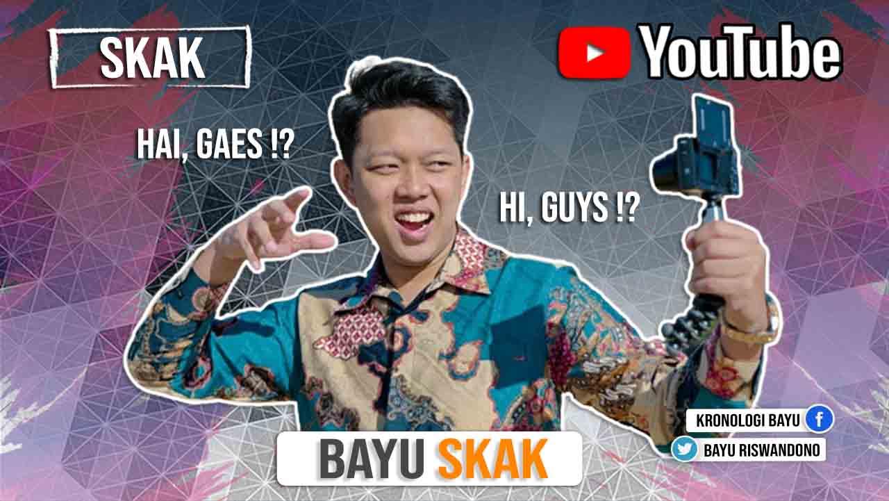 Profil Biodata Bayu Skak, Youtuber Sukses Di Indonesia
