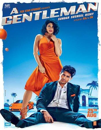 A Gentleman (2017) Hindi 720p WEB-DL x264 1GB