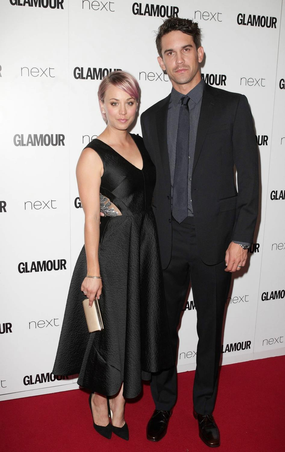 Kaley Cuoco and Ryan Sweeting at Glamour Women of the Year Awards