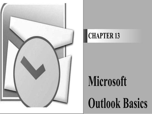 MS Outlook Basics download pdf ebook