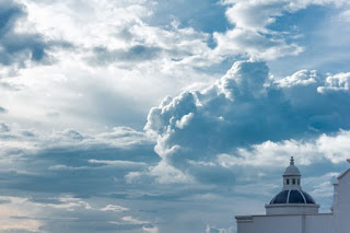 Clouds over church - Photo by Jacob Mejicanos on Unsplash