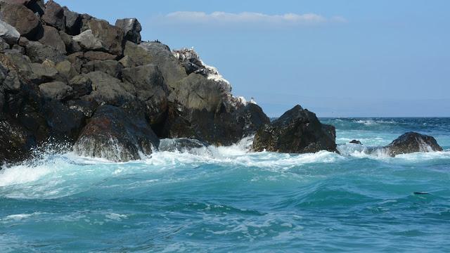 Punta Vicente Roca breaking waves