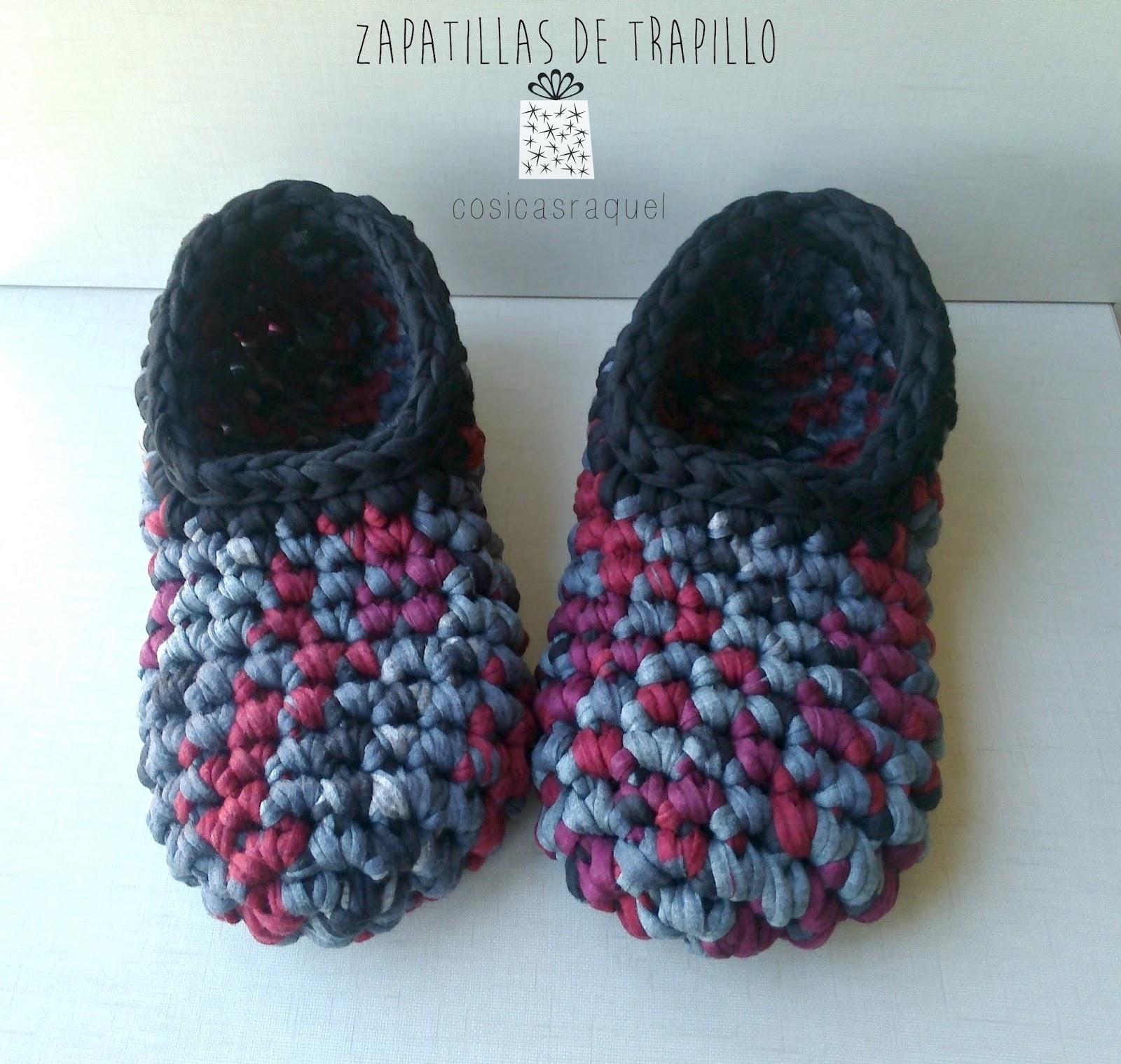 cosicasraquel: Zapatillas de Trapillo Paso a Paso
