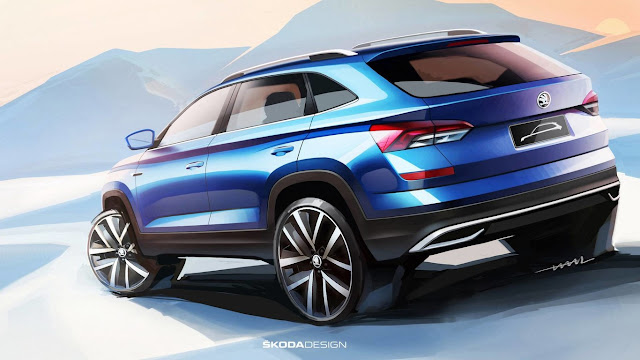 New Škoda for China - First sketches of mainstream city