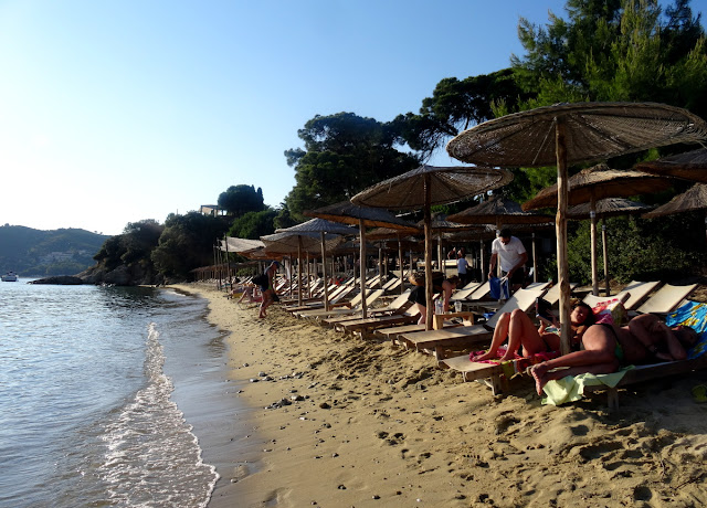 Vromolimnos Beach, Skiathos, Greece
