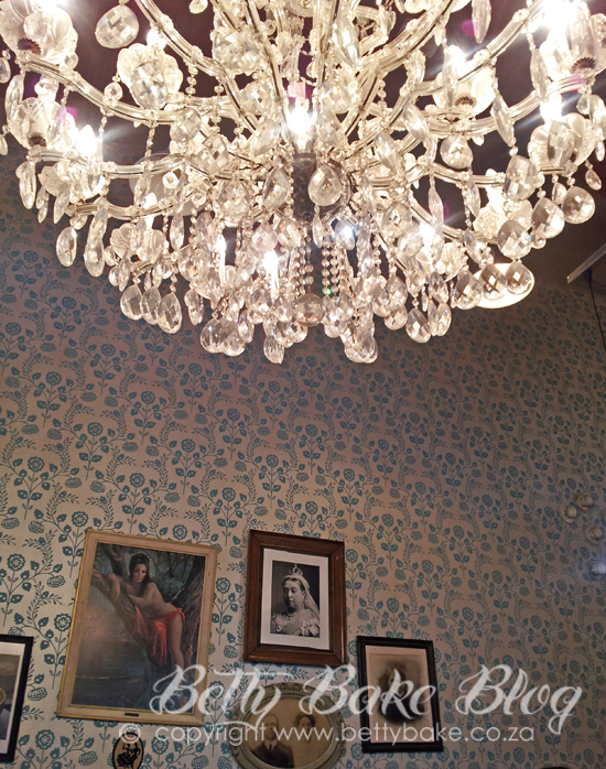 vovo telo, restaurant, cape town, coffee, vintage tea cups, chandelier, V&A Waterfront, coffee shop