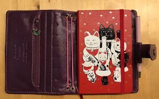 Moleskine Pocket agenda lucky cats