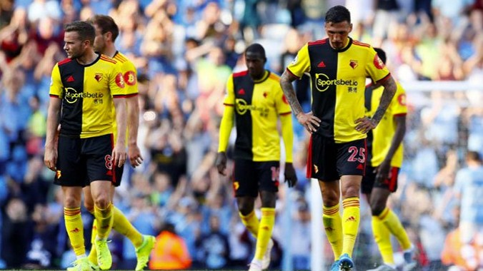 Manchester City Spurs Lester Shaken by the defeat of Watford and eight injured,