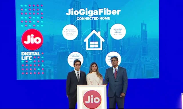 Jio Fiber Broadband Launch Today