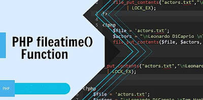 PHP fileatime() Function