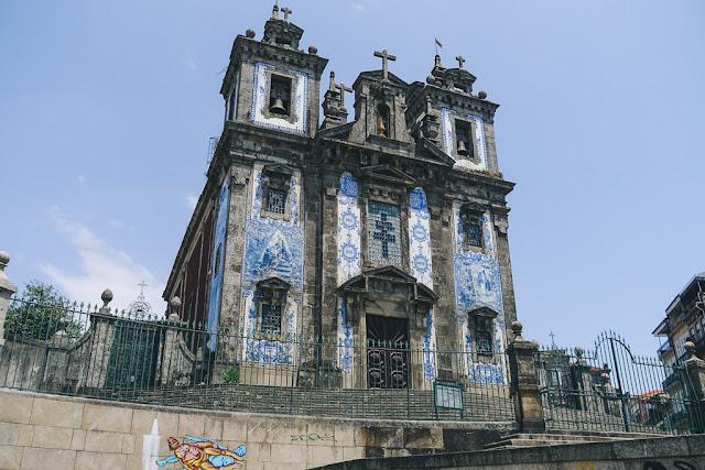 サント・イルデフォンソ教会(Igreja Paroquial de Santo Ildefonso)