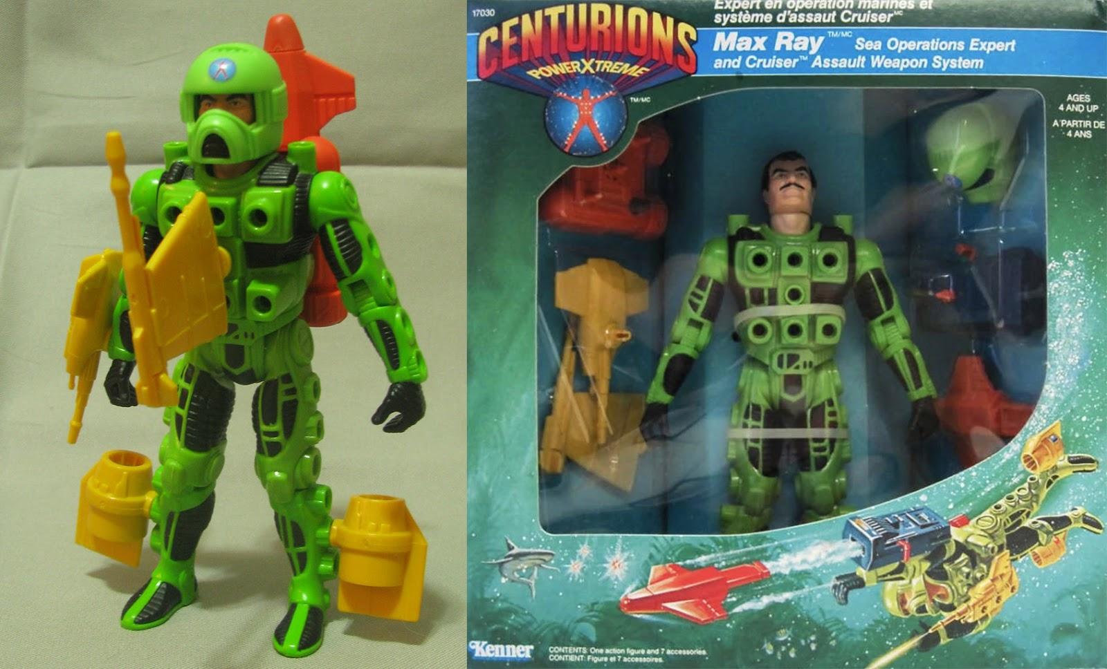 Centurions, tutta la linea di giocattoli Kenner