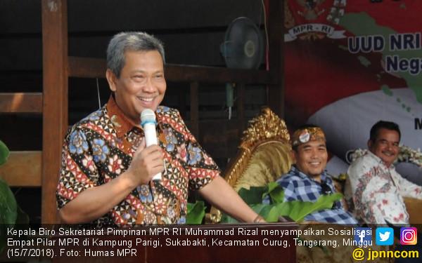 M. Rizal: Pancasila Bukan Milik Perorangan atau Rezim